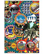 Beatles mahoni style 11x17 Poster front
