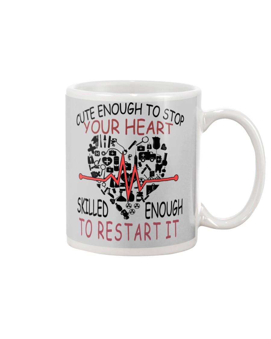 LIMITED EDITION-skilled enough to restar it Mug