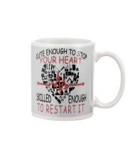 LIMITED EDITION-skilled enough to restar it Mug front