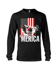 Merica racer flag Long Sleeve Tee thumbnail
