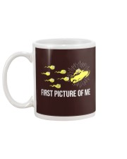 Funny Snowmobile Shirts First Picture Of Me Mug back