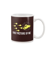 Funny Snowmobile Shirts First Picture Of Me Mug front