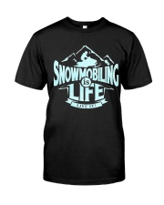 Snowmobiling Is Life Classic T-Shirt thumbnail