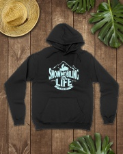 Snowmobiling Is Life Hooded Sweatshirt lifestyle-unisex-hoodie-front-7
