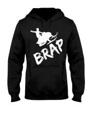 Snocross Brap T Shirt Hooded Sweatshirt front
