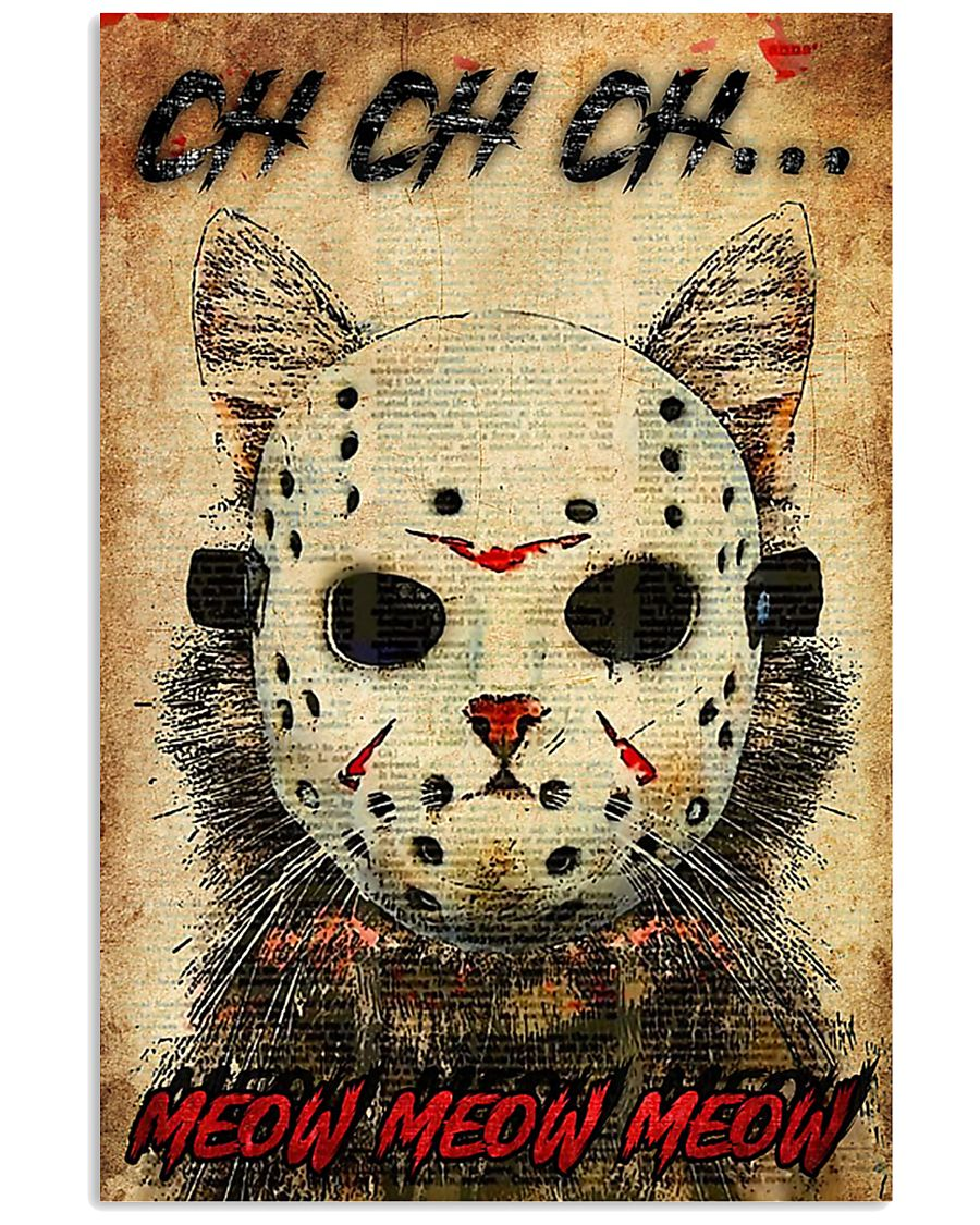 Cat Jason Voorhees Poster MCL042007P04 11x17 Poster