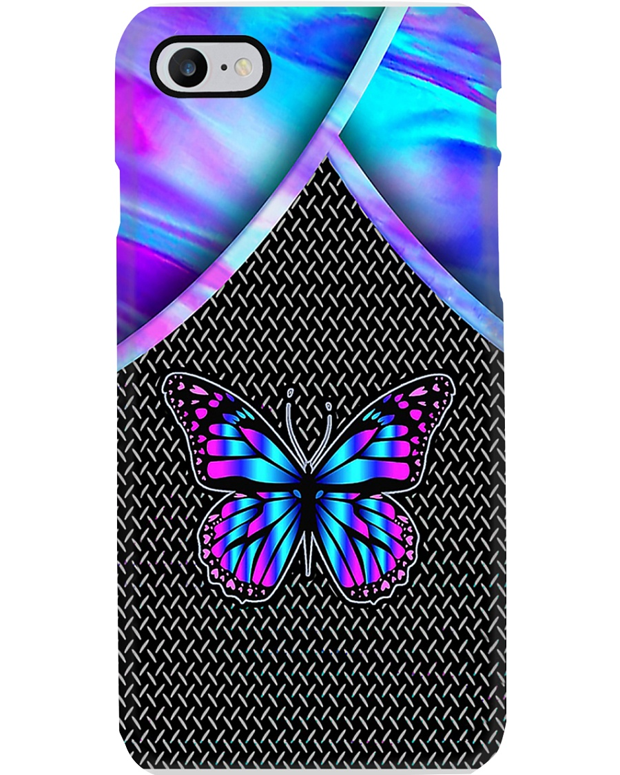 BUTTERFLY HOLOGRAM PHONE CASE MCL042007N05BB Phone Case