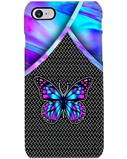 BUTTERFLY HOLOGRAM PHONE CASE MCL042007N05BB Phone Case i-phone-7-case