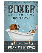 Boxer Soap Poster 11x17 Poster front