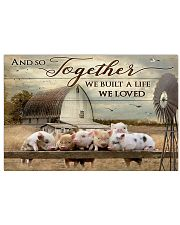 Pig Poster MCL132005J01VT 17x11 Poster front