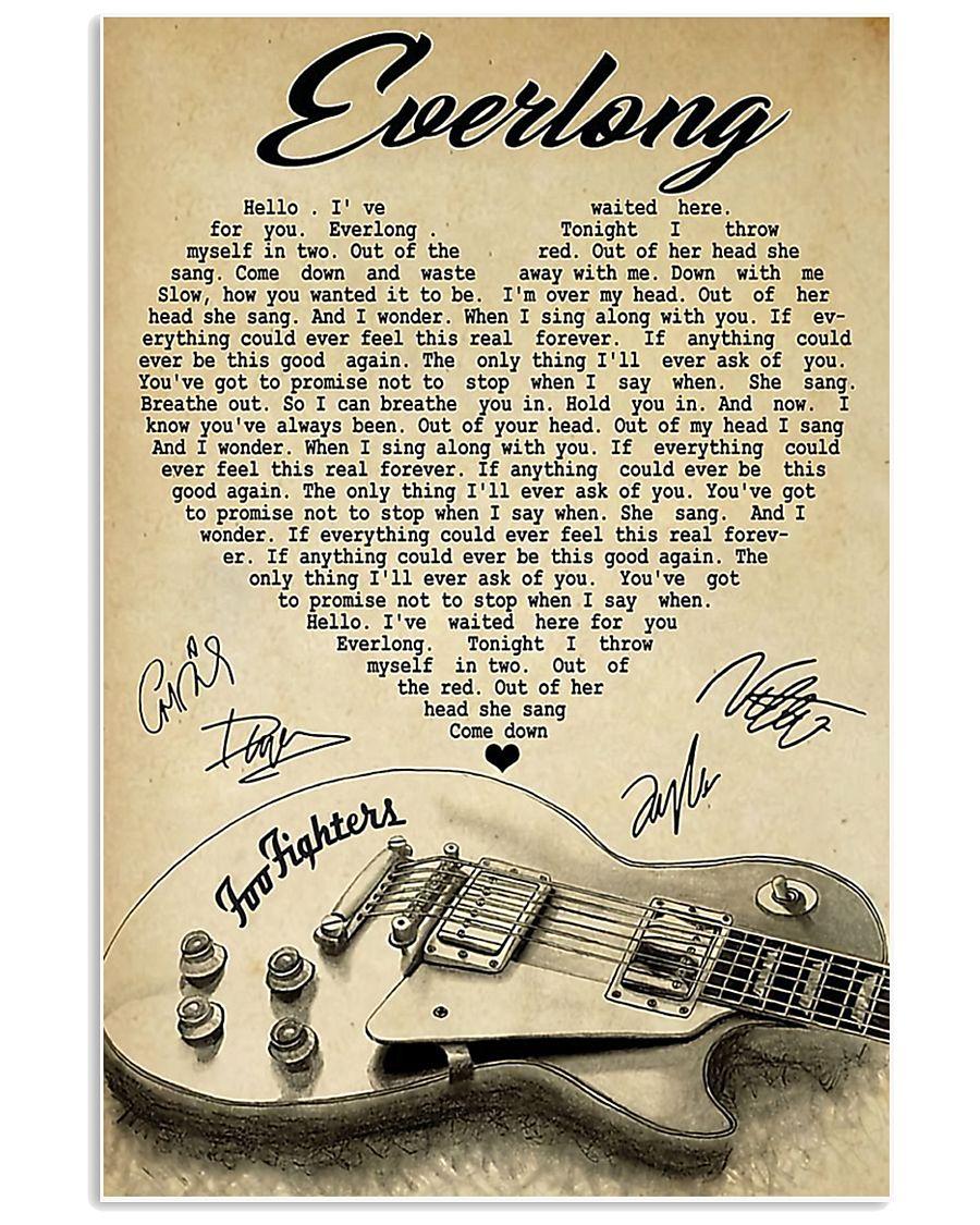 Everlong Poster H1203 11x17 Poster