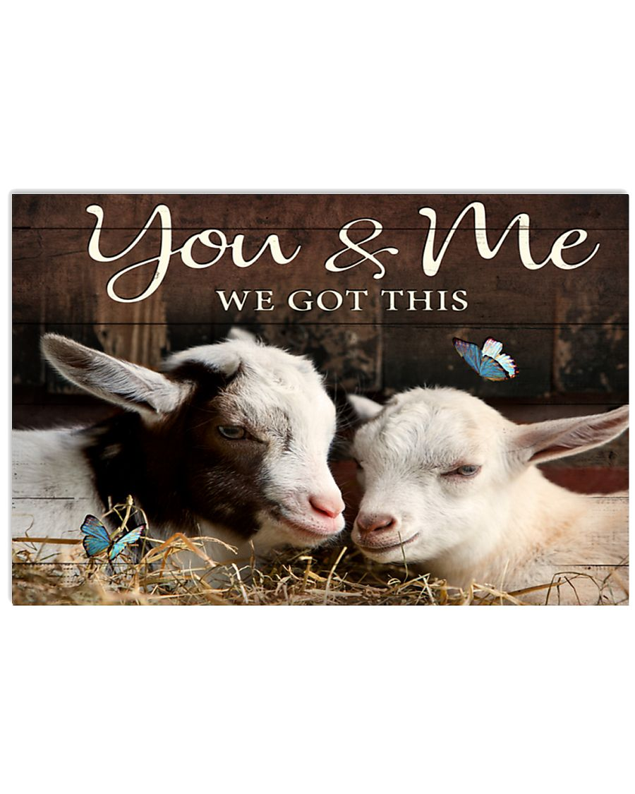 Goat Poster MCL182005J04VT 17x11 Poster