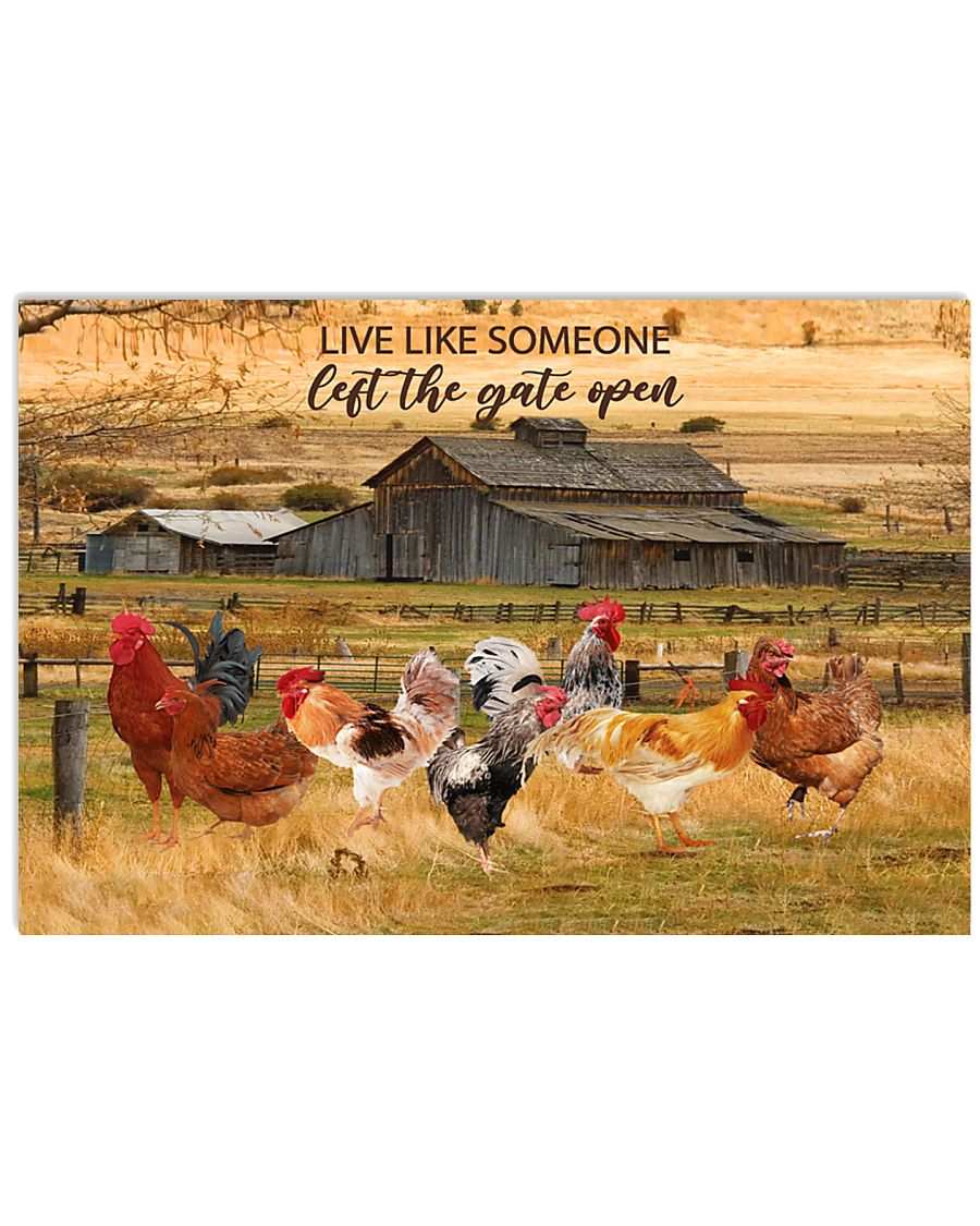 Rooster Poster PHT062005A10VT0605 17x11 Poster