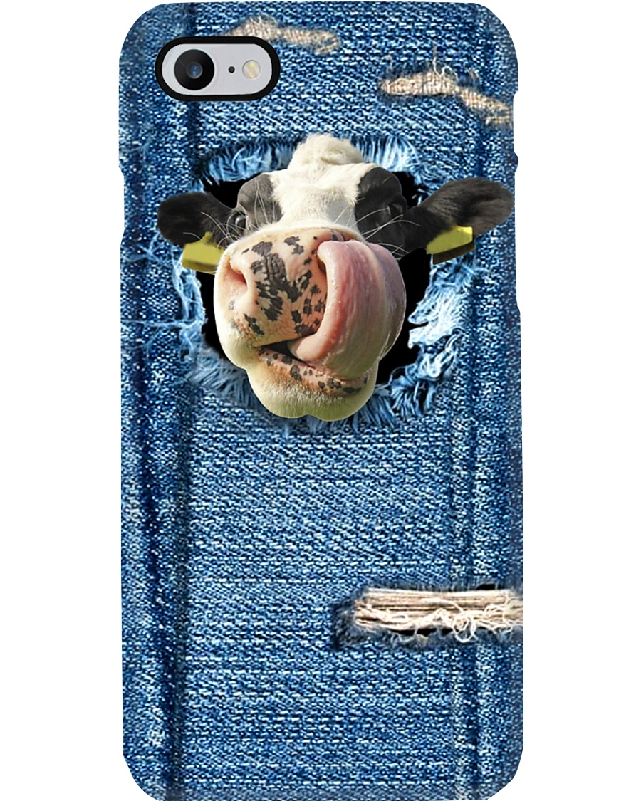 COW DAIRY TOUNGE PHONE CASE LTV202007F06HT Phone Case