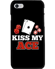 kiss my ace funny poker apparel Phone Case thumbnail