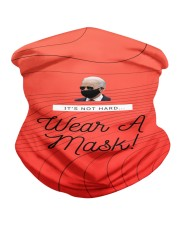 It's Not Hard Wear A Mask by Joe Biden Neck Gaiter thumbnail