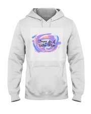 Strong As A Foster Mom Face Mask Hooded Sweatshirt thumbnail