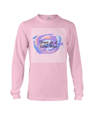 Strong As A Foster Mom Face Mask Long Sleeve Tee thumbnail