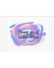 Strong As A Foster Mom Face Mask 17x11 Poster thumbnail