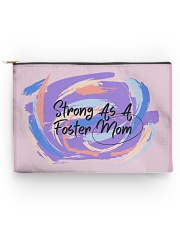 Strong As A Foster Mom Face Mask Accessory Pouch - Large thumbnail