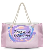 Strong As A Foster Mom Face Mask Weekender Tote thumbnail