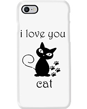 I LOVE YOU CAT Phone Case thumbnail