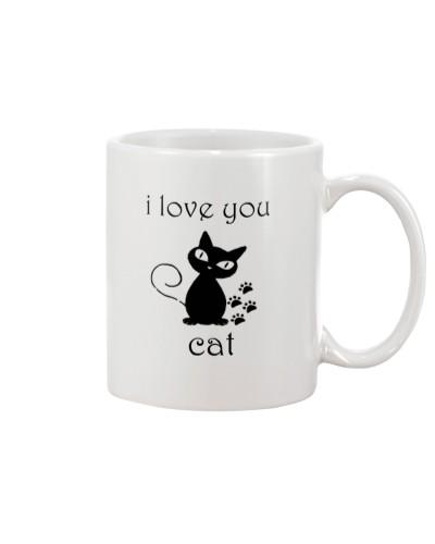 I LOVE YOU CAT