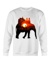 ElephantForest-Africa Crewneck Sweatshirt tile