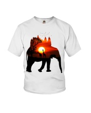 ElephantForest-Africa Youth T-Shirt thumbnail