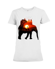 ElephantForest-Africa Premium Fit Ladies Tee tile