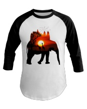 ElephantForest-Africa Baseball Tee tile