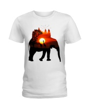 ElephantForest-Africa Ladies T-Shirt thumbnail