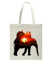 ElephantForest-Africa Tote Bag thumbnail
