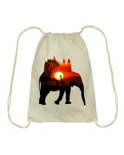 ElephantForest-Africa Drawstring Bag tile