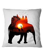 ElephantForest-Africa Square Pillowcase thumbnail