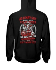 AS A MAY I COME WITH Hooded Sweatshirt thumbnail