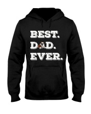 Best Dad Ever bulldo funny gift father day Hooded Sweatshirt thumbnail