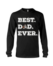 Best Dad Ever bulldo funny gift father day Long Sleeve Tee thumbnail