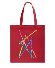 Crochet Hooks T Shirt Tote Bag thumbnail