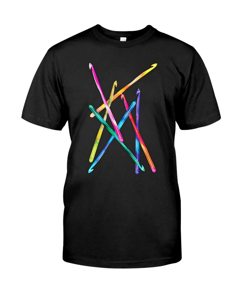 Crochet Hooks T Shirt Classic T-Shirt