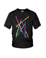 Crochet Hooks T Shirt Youth T-Shirt thumbnail