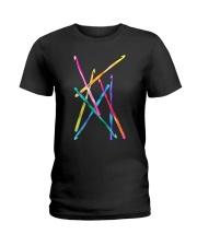 Crochet Hooks T Shirt Ladies T-Shirt thumbnail