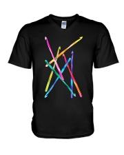 Crochet Hooks T Shirt V-Neck T-Shirt thumbnail