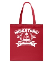 Cthulhu Miskatonic University Arkham Mass T Shirt Tote Bag thumbnail