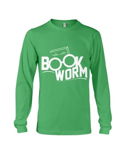 Book Worm   White T Shirt