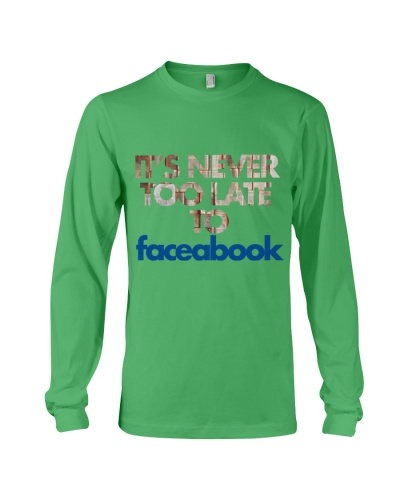 It  039 s Never Too Late To Face A Book T Shirt