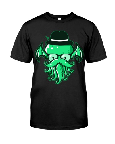 Hipster Cthulhu T Shirt