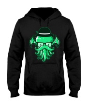 Hipster Cthulhu T Shirt Hooded Sweatshirt thumbnail