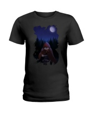 Bad Little Red riding hood T Shirt Ladies T-Shirt tile