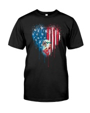Great-Dane-Bleeding-Heart-American Classic T-Shirt thumbnail